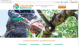 Location service : Location d'outillage